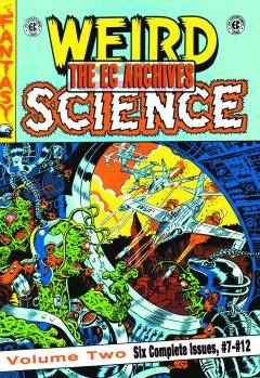 EC ARCHIVES WEIRD SCIENCE HC 02