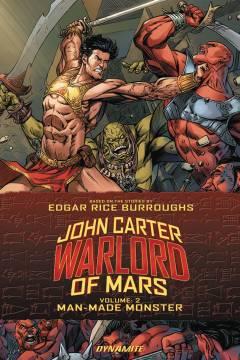 JOHN CARTER WARLORD TP 02 MAN MADE MONSTER