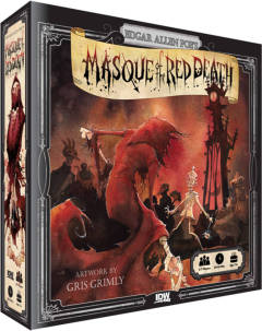EDGAR ALLAN POE MASQUE OF RED DEATH GAME