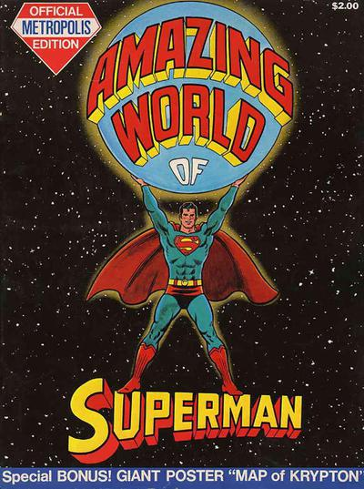 AMAZING WORLD OF SUPERMAN TABLOID ED HC