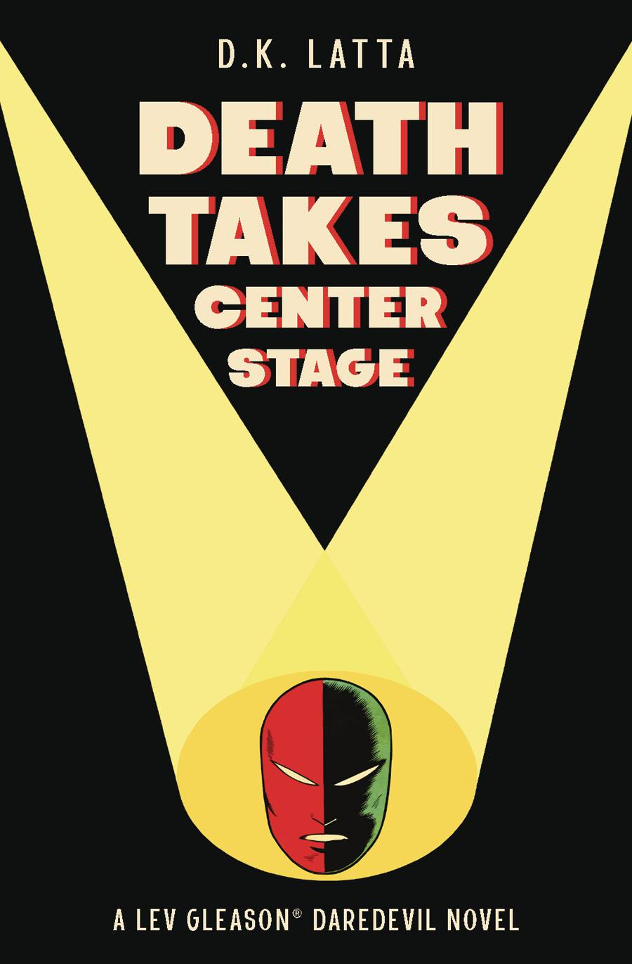 DEATH TAKES CENTER STAGE PAPERBACK