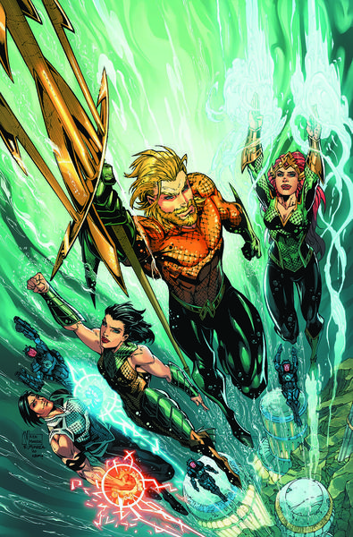 AQUAMAN DEEP DIVES TP