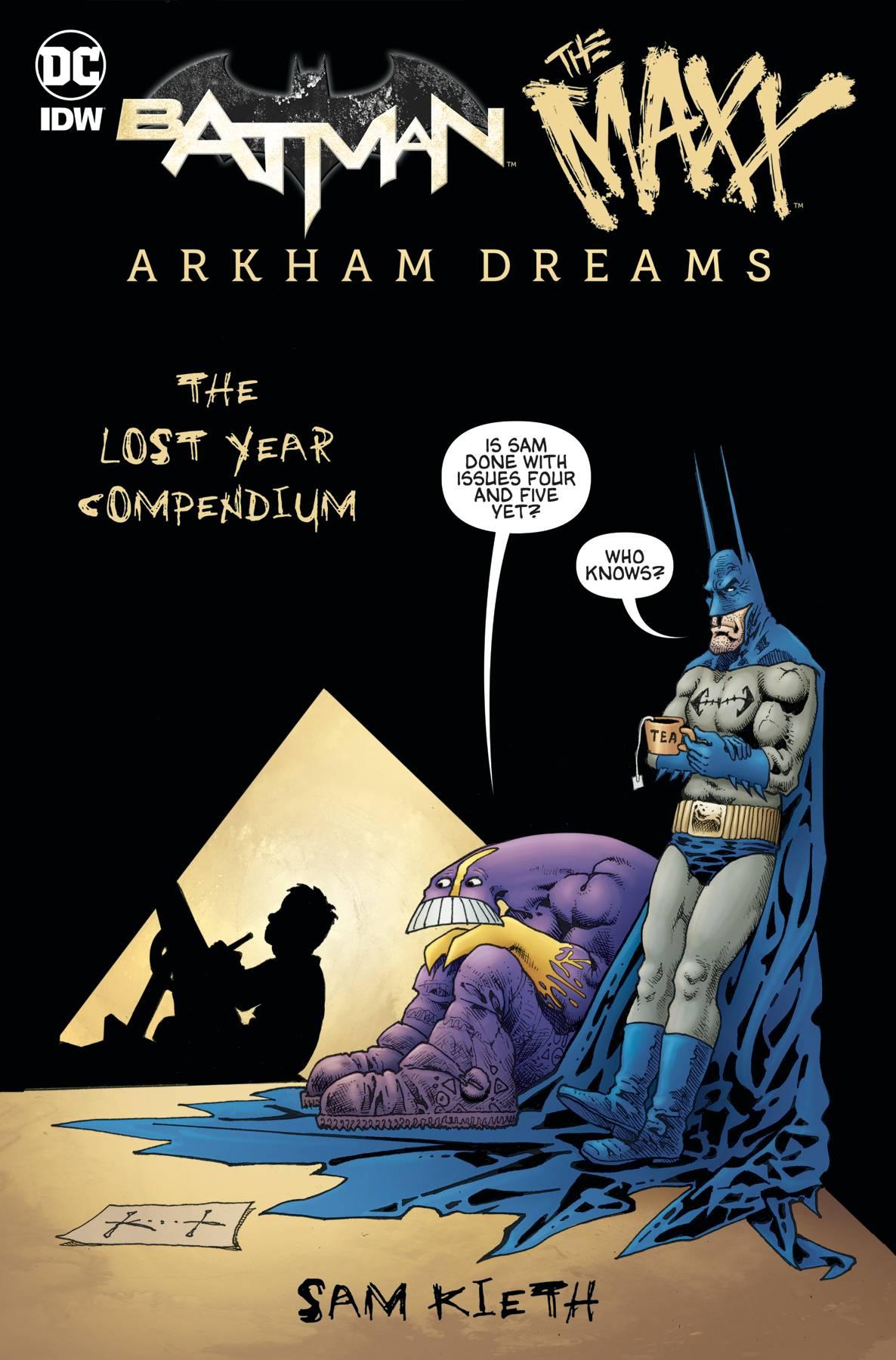 BATMAN MAXX ARKHAM DREAMS LOST YEAR COMPENDIUM
