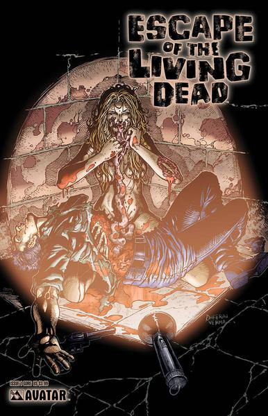 ESCAPE LIVING DEAD ORIGINAL GORE COVERS SET (5CT)