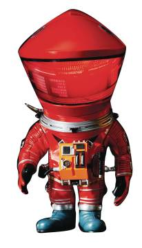 A SPACE ODYSSEY DF ASTRONAUT DEFO REAL SOFT VINYL RED VERSION