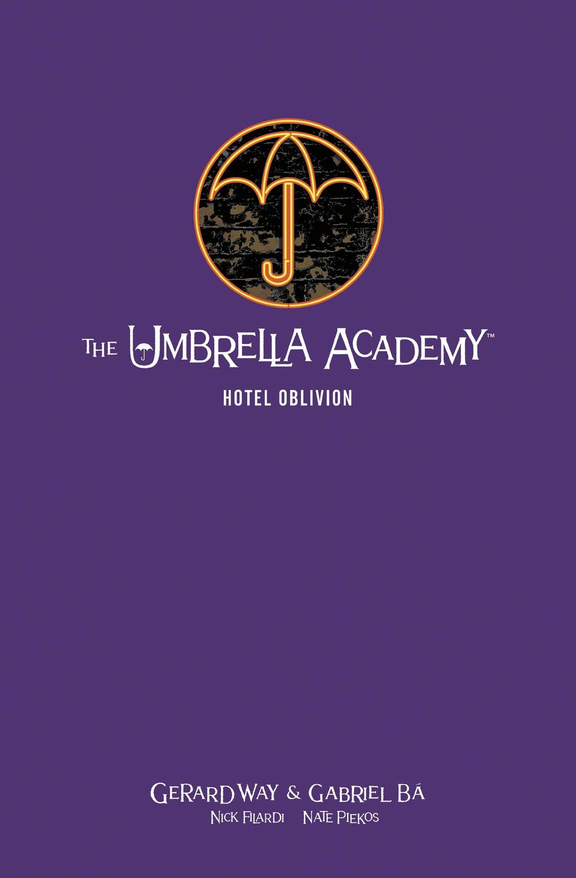 UMBRELLA ACADEMY LIBRARY EDITION HC 03 HOTEL OBLIVION