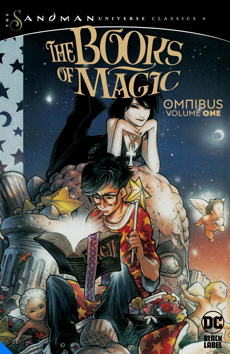 BOOKS OF MAGIC OMNIBUS HC 01