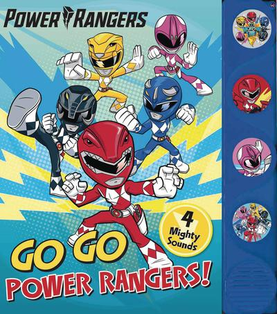 POWER RANGERS GO GO POWER RANGERS BOARD BOOK W SOUND
