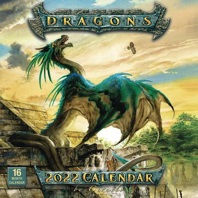 DRAGONS BY CIRUELO 2022 WALL CALENDAR