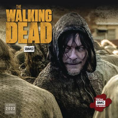 WALKING DEAD AMC 2022 WALL CALENDAR