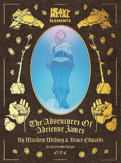 ADVENTURES OF ADRIENNE JAMES