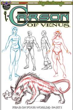 CARSON OF VENUS FEAR ON FOUR WORLDS SPECIAL LTD ED CHARACTER CVR