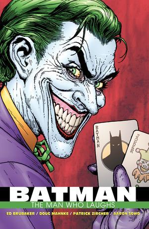 BATMAN THE MAN WHO LAUGHS DLX ED HC