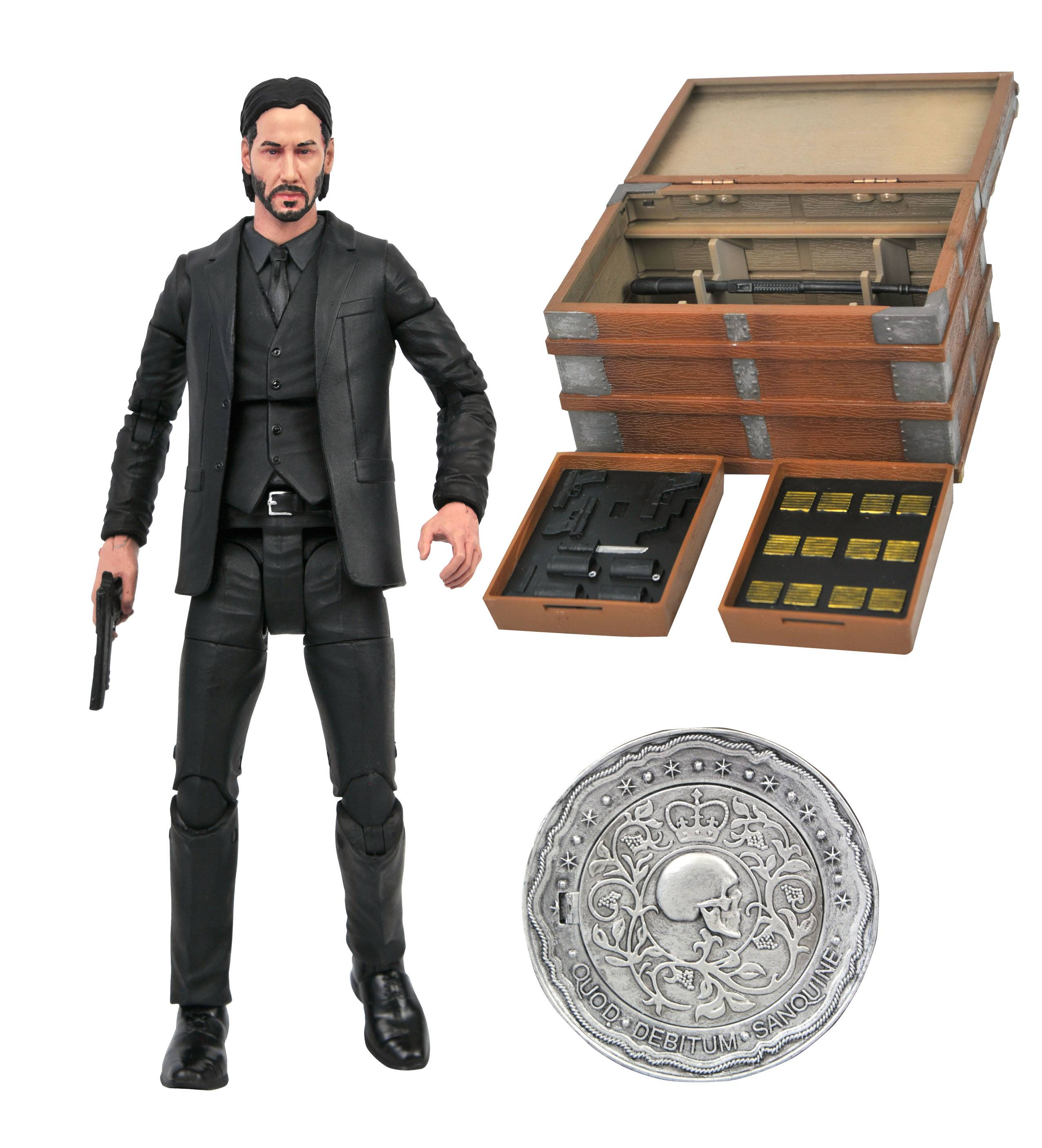 JOHN WICK DLX ACTION FIGURE BOX SET