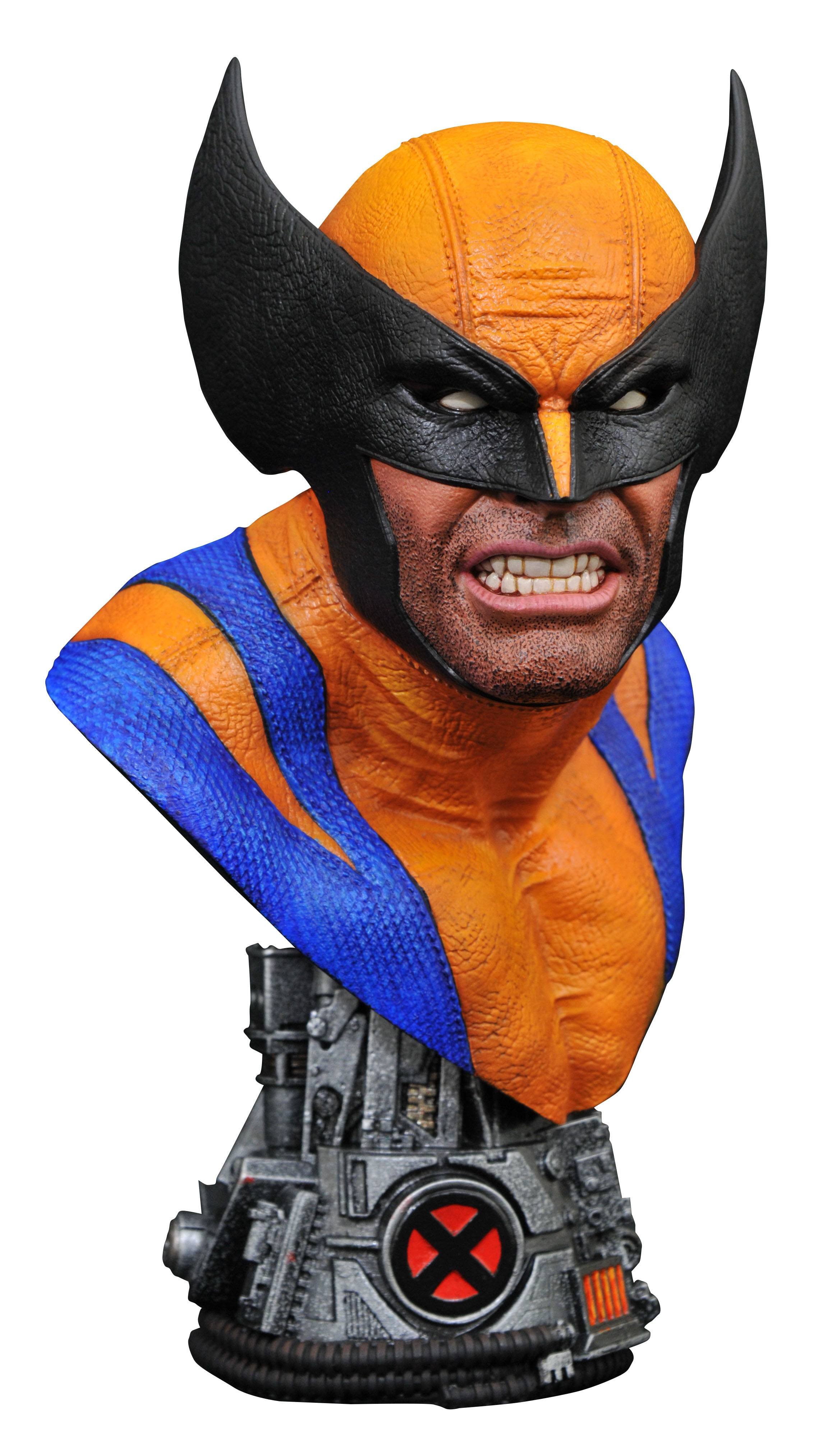 MARVEL LEGENDS IN 3D WOLVERINE 1/2 SCALE BUST