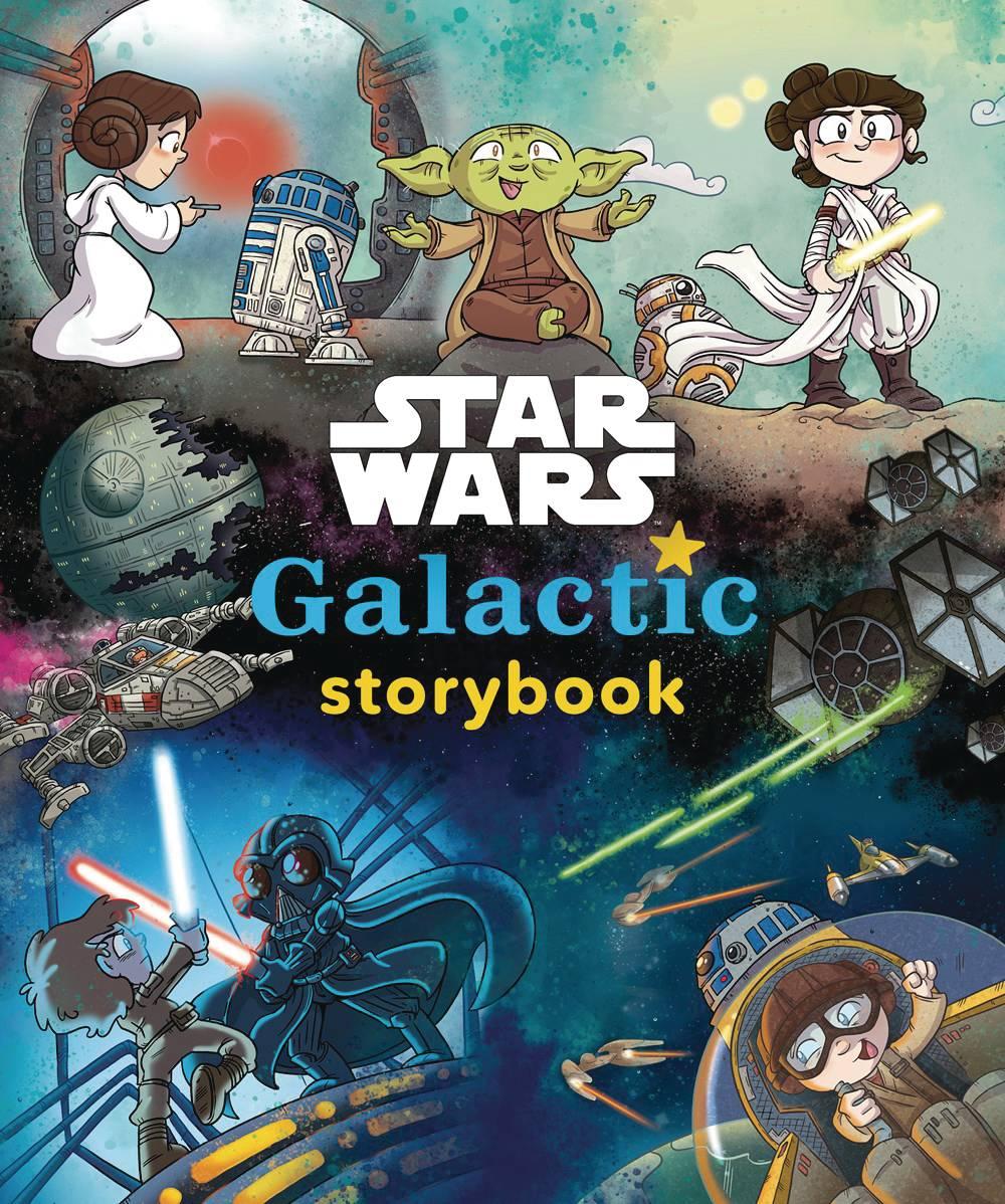 STAR WARS GALACTIC STORYBOOK HC