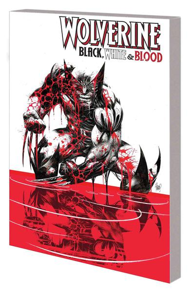WOLVERINE BLACK WHITE AND BLOOD TREASURY EDITION TP