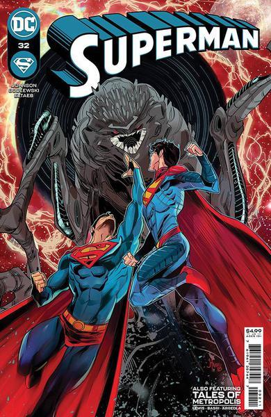 DF SUPERMAN #32 KENNEDY JOHNSON SGN