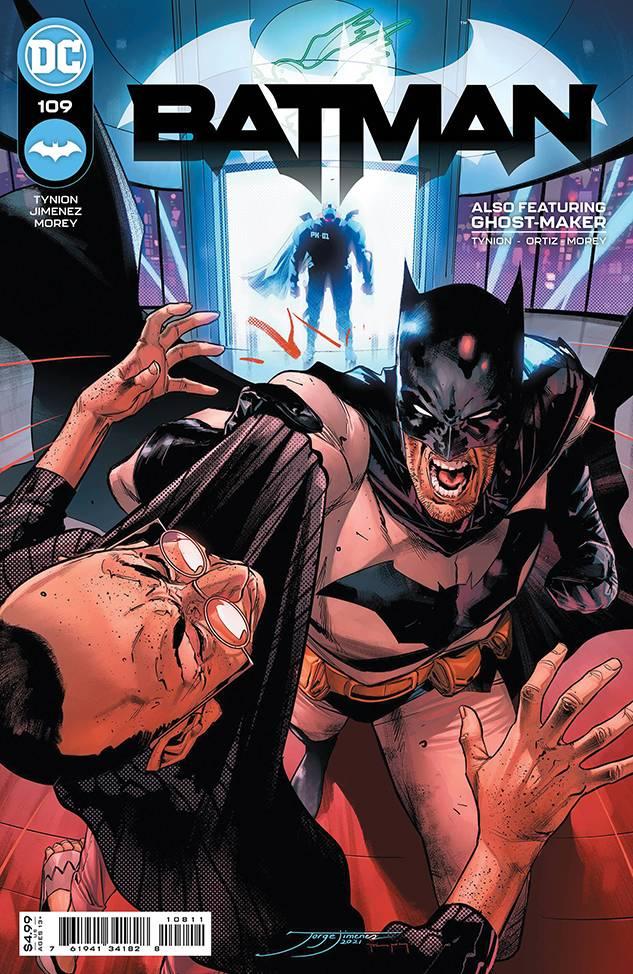 DF BATMAN #109 TYNION IV SGN