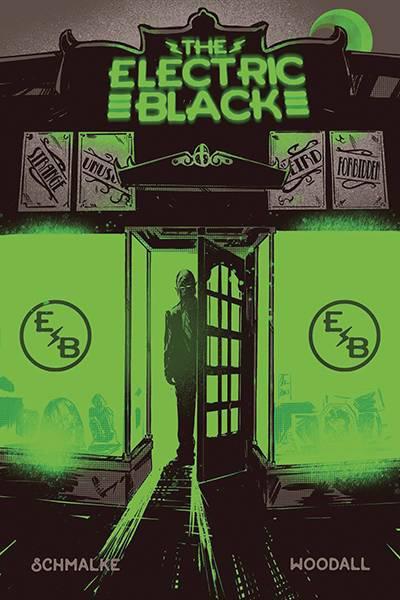 DF ELECTRIC BLACK #1 2ND PTG SCHMALKE & WOODALL SGN