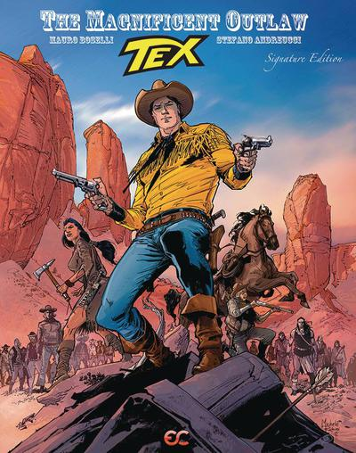 TEX MAGNIFICENT OUTLAW HC