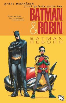 BATMAN AND ROBIN I TP 01 BATMAN REBORN