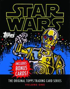 STAR WARS ORIGINAL TOPPS TRADING CARD SERIES HC 01