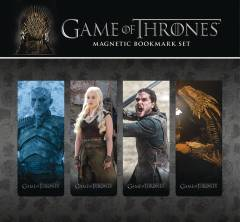 GAME OF THRONES MAGNETIC BOOK MARK SET 3