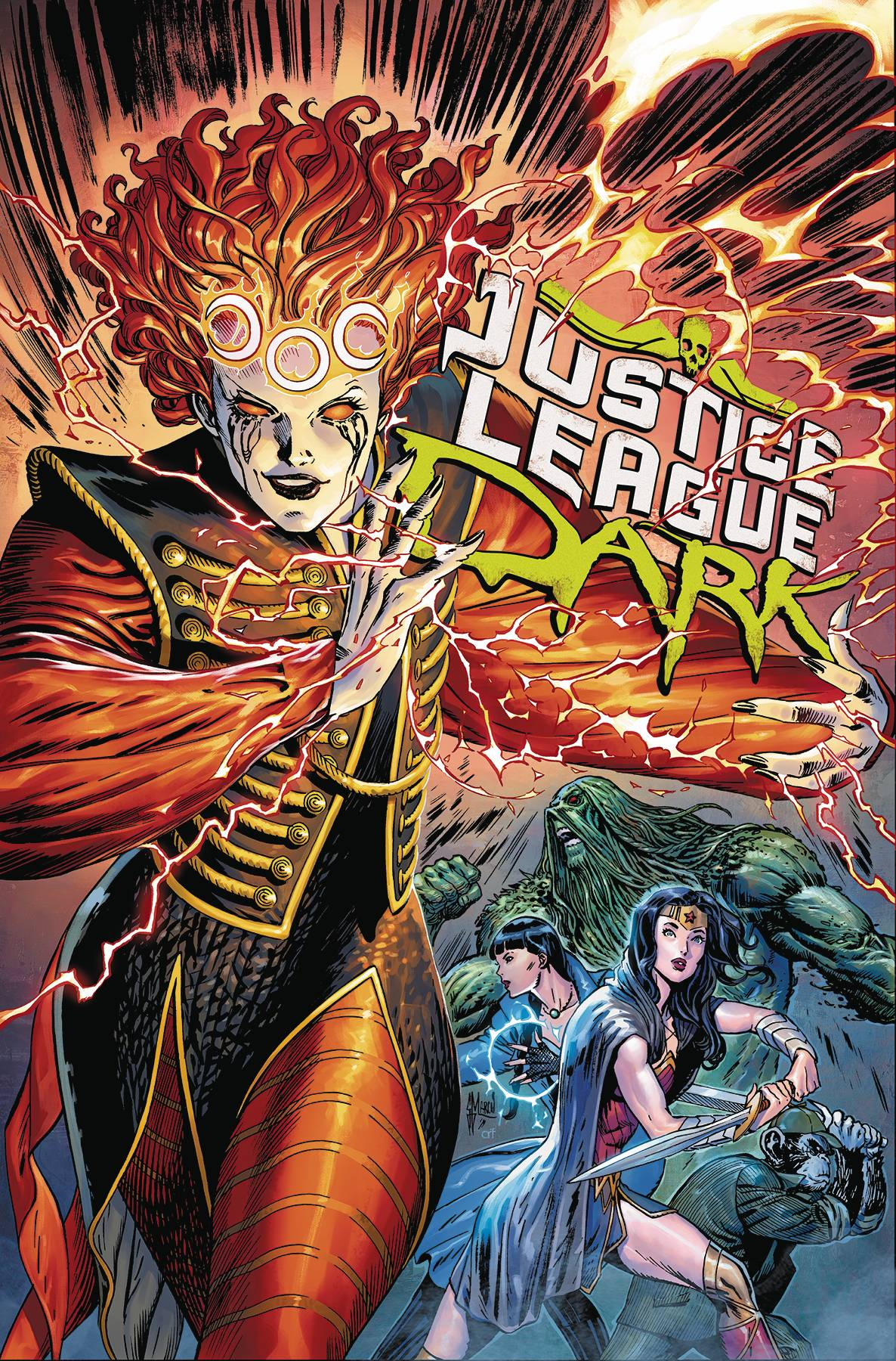 JUSTICE LEAGUE DARK TP 03 THE WITCHING WAR