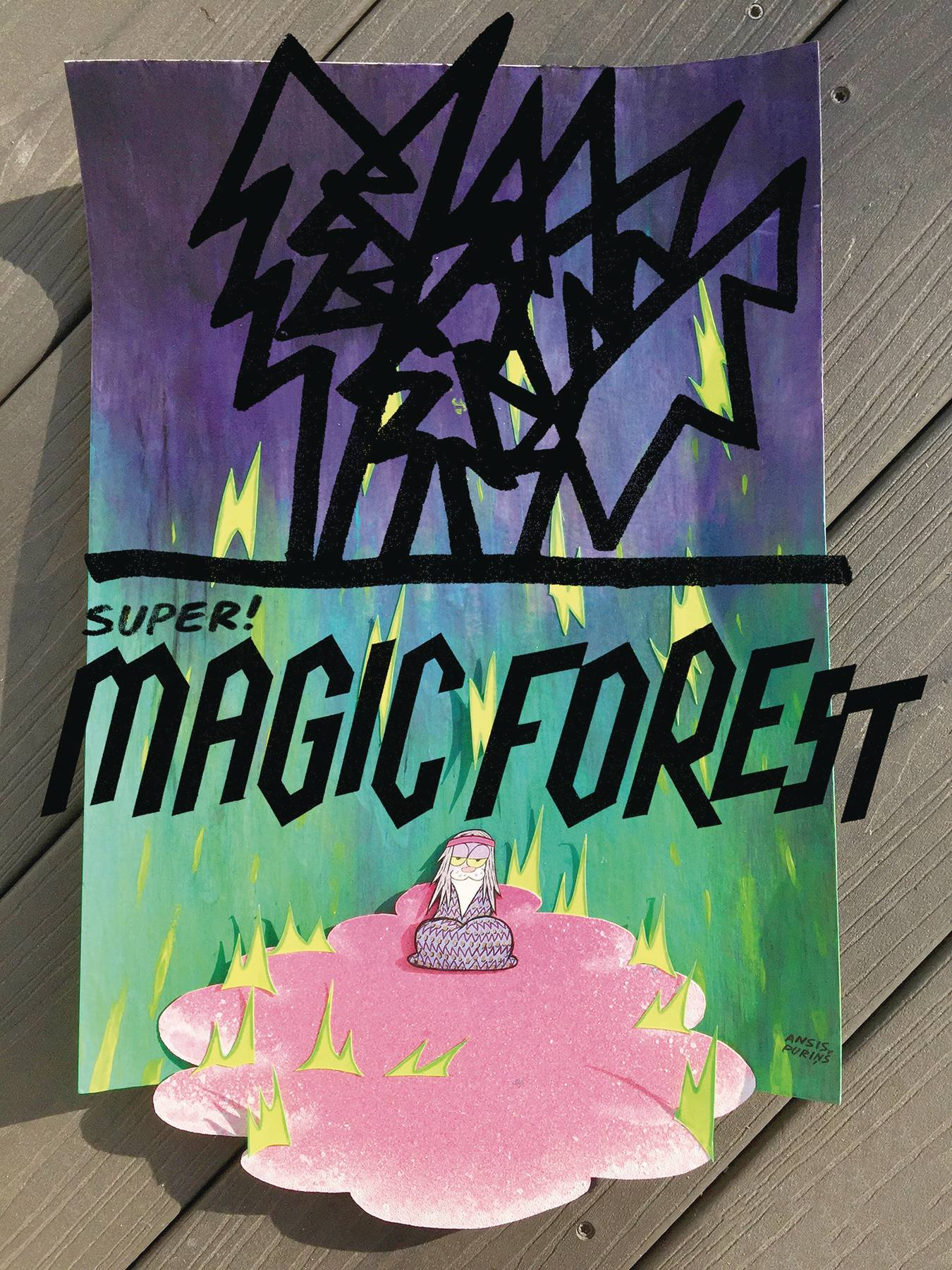 SUPER MAGIC FOREST TP