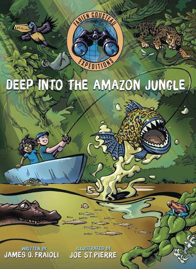 DEEP INTO THE AMAZON JUNGLE HC