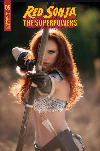 RED SONJA THE SUPERPOWERS