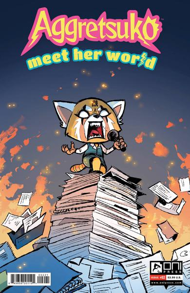 AGGRETSUKO MEET HER WORLD