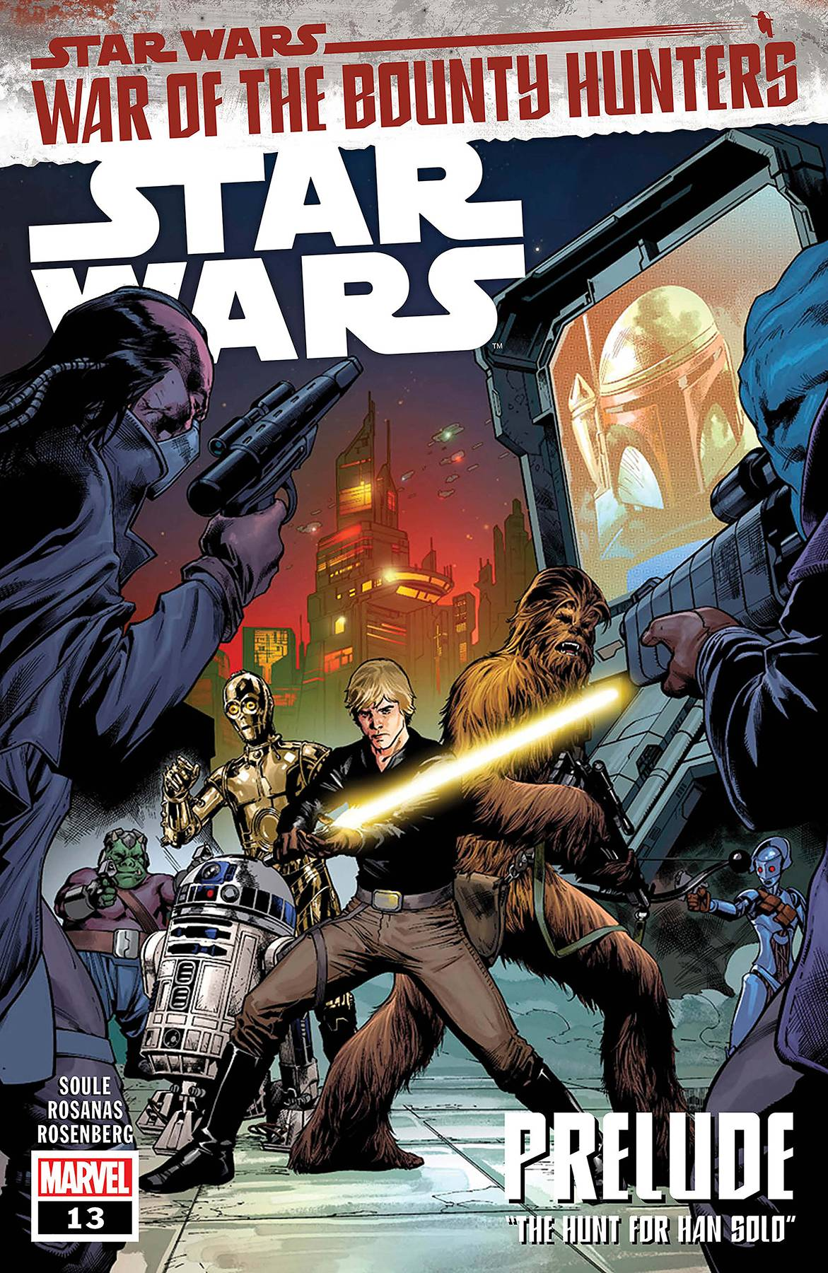DF STAR WARS WAR OF BOUNTY HUNTER #13 PRELUDE SGN