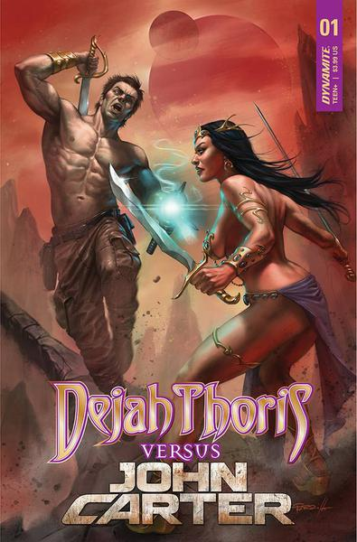 DEJAH THORIS VS JOHN CARTER OF MARS