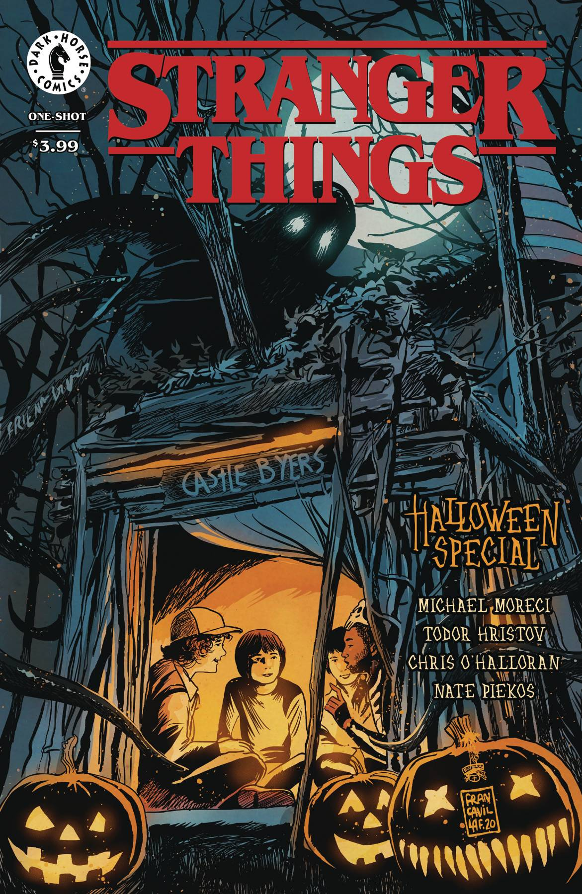 STRANGER THINGS HALLOWEEN SPECIAL ONESHOT