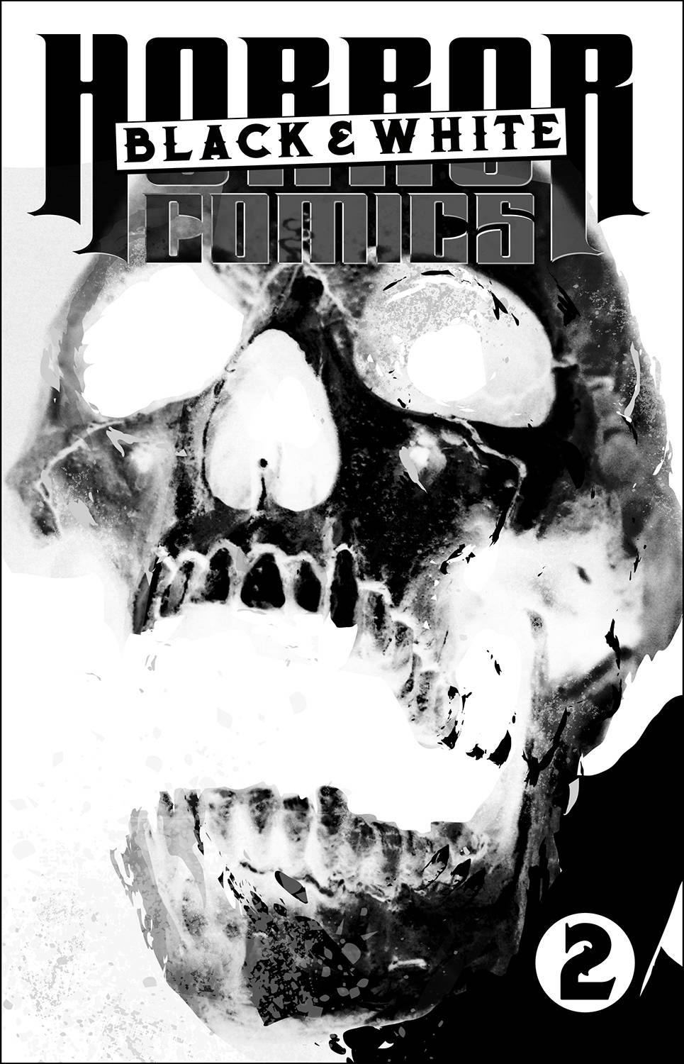 HORROR COMICS BLACK AND WHITE