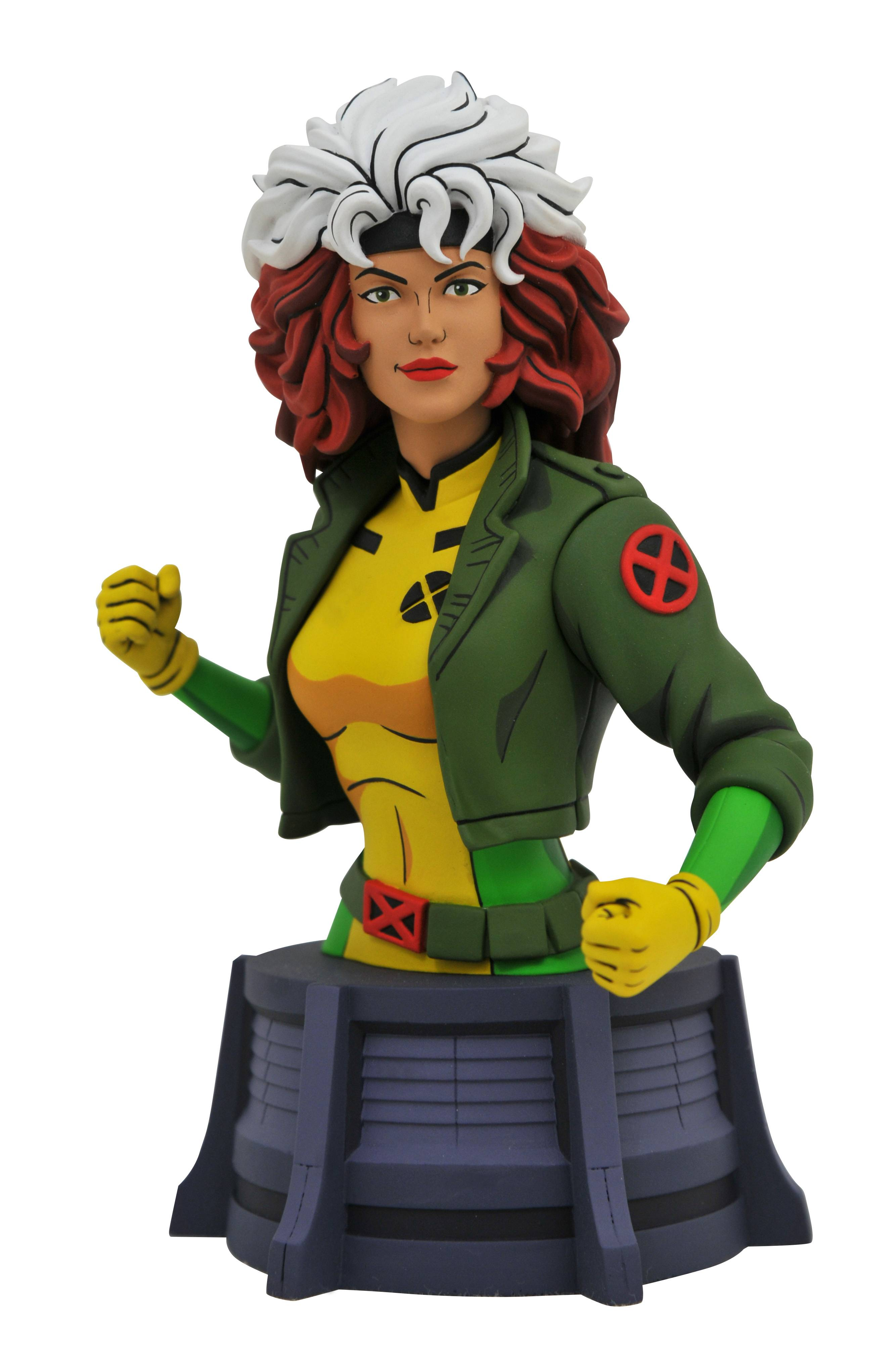 MARVEL ANIMATED X-MEN ROGUE BUST