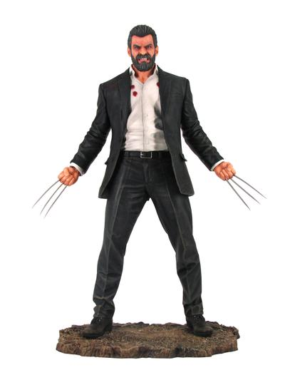 MARVEL PREMIER COLLECTION LOGAN MOVIE STATUE