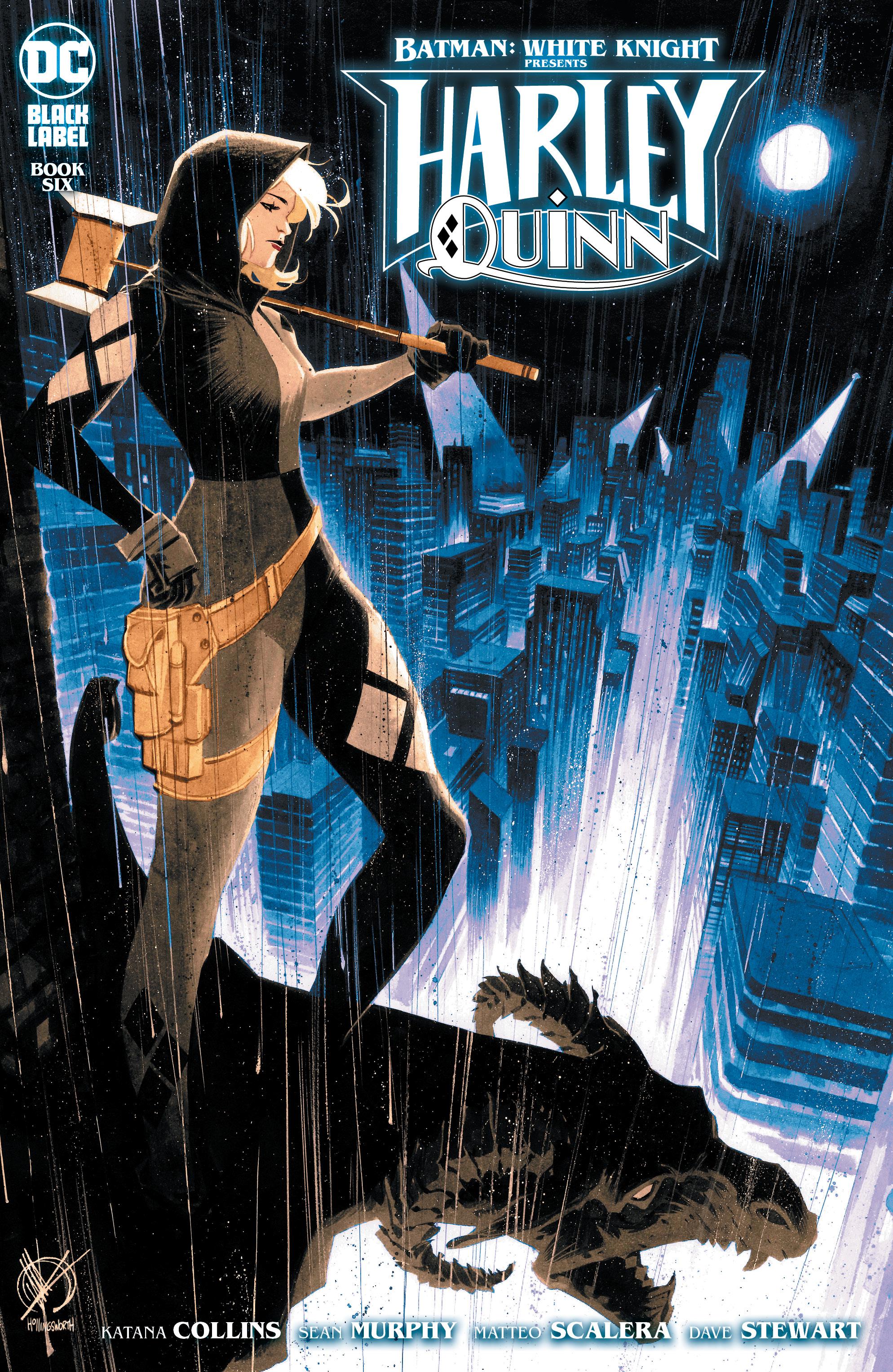 BATMAN WHITE KNIGHT PRESENTS HARLEY QUINN