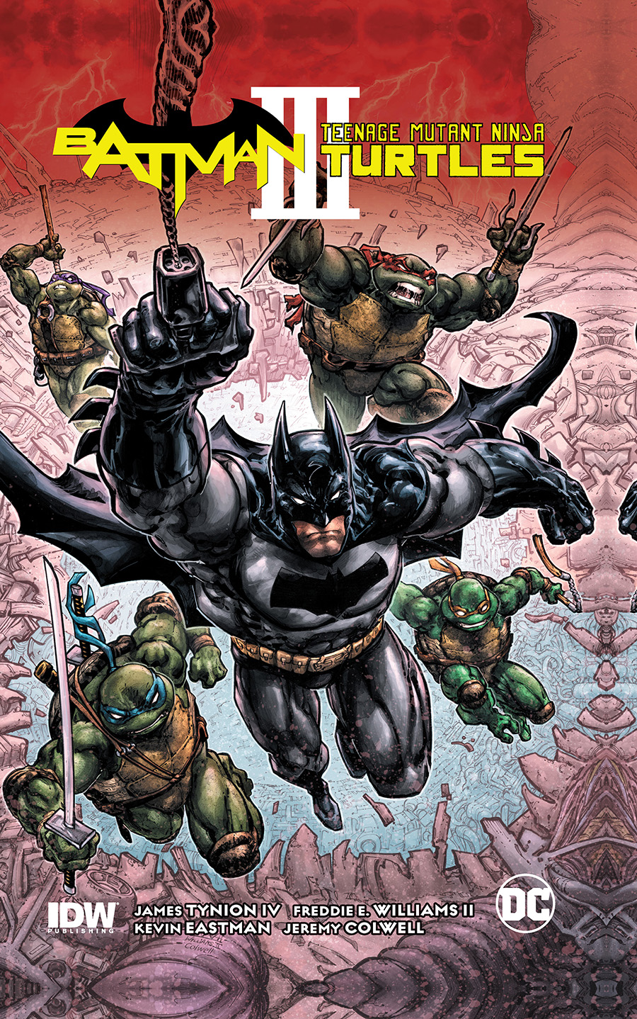 BATMAN TEENAGE MUTANT NINJA TURTLES III TP