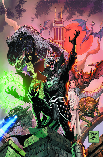 DARK NIGHTS DEATH METAL THE DARKEST KNIGHT TP