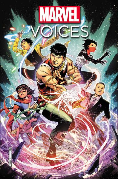MARVELS VOICES IDENTITY #1 POSTER