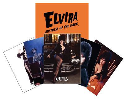 ELVIRA MINI TRADING CARD SET WITH ENVELOPE