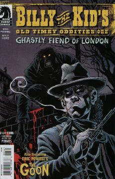 BILLY THE KID GHASTLY FIEND LONDON