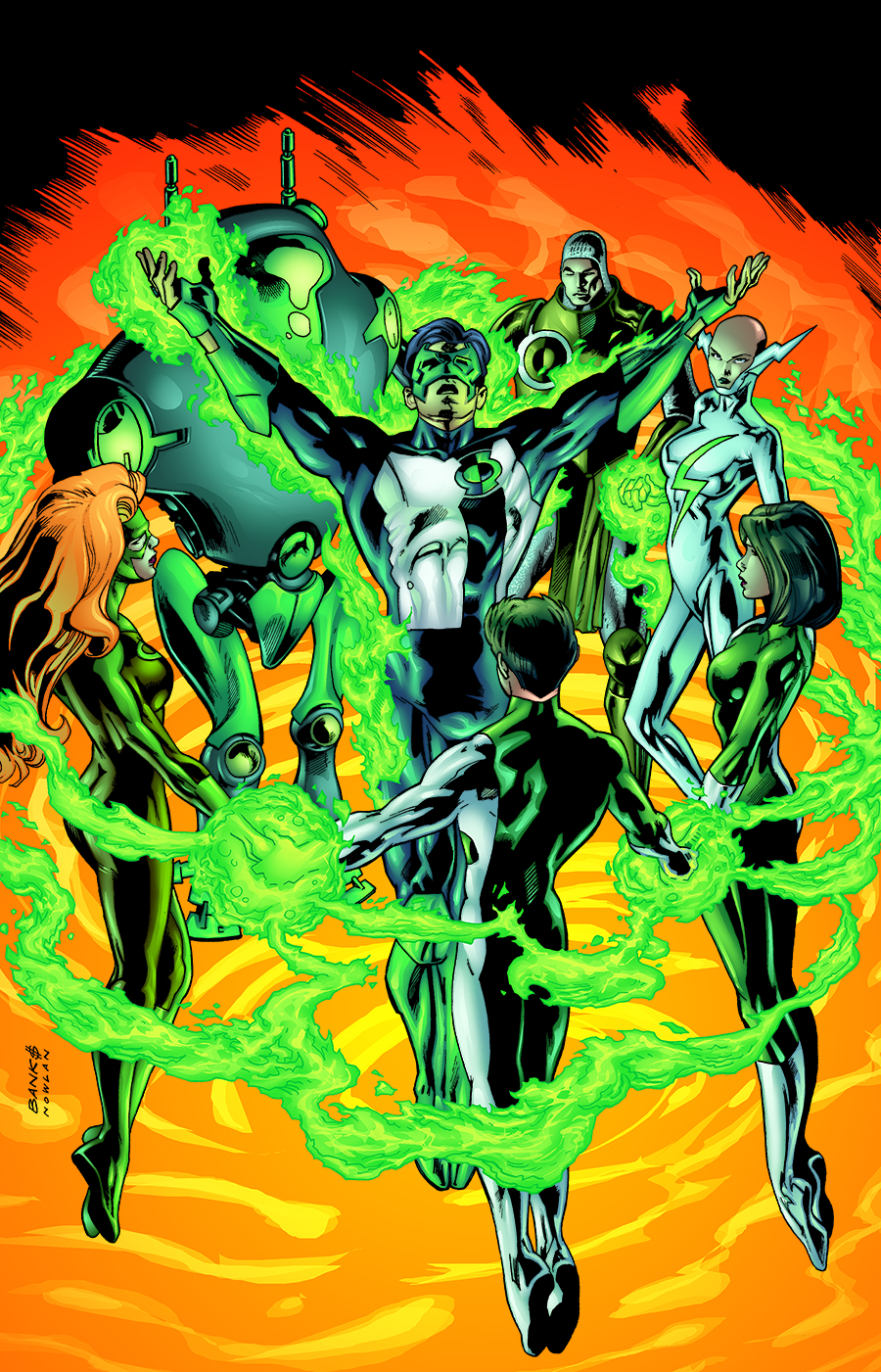 GREEN LANTERN CIRCLE OF FIRE TP