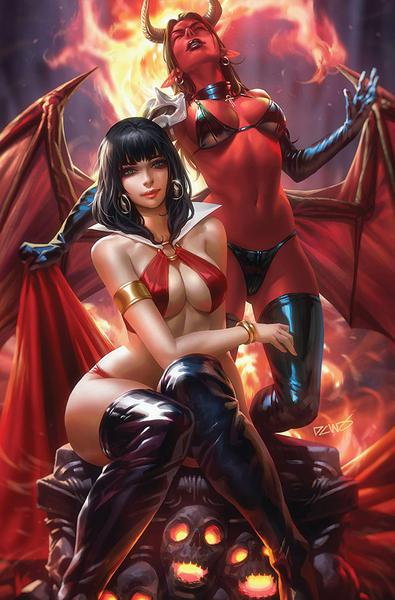 VAMPIRELLA VS PURGATORI CHEW LTD VIRGIN CVR