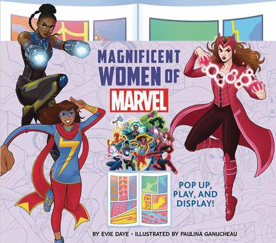 MAGNIFICENT WOMEN OF MARVEL POP UP PLAY & DISPLAY