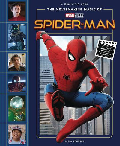 MOVIEMAKING MAGIC OF MARVEL STUDIOS SPIDER-MAN HC