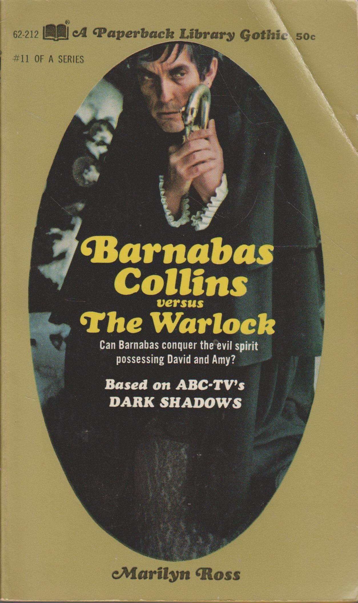 DARK SHADOWS PAPERBACK LIBRARY NOVEL 11 BARNABAS COLLINS